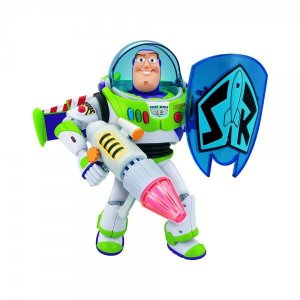 Boneco Toy Story Buzz Lightyear com Escudo - Toyng