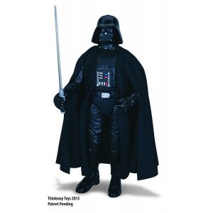 Boneco interativo Darth Vader Star Wars - Toyng