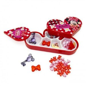 Kit Miçangas com Estojo Toyng Disney Minnie
