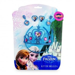 Jogo de Beleza com Tiara Frozen - Toyng