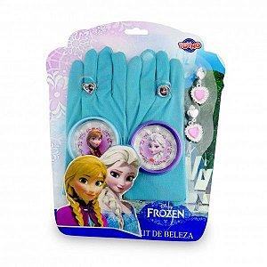 Jogo de Beleza com Luva Frozen - Toyng