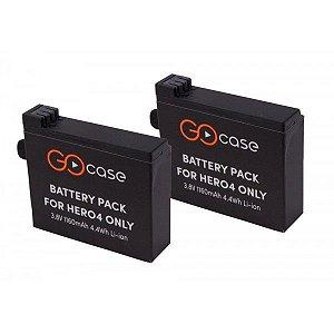 Duas baterias recarregáveis para câmera GoPro HERO4 - PROPOWER - Gocase