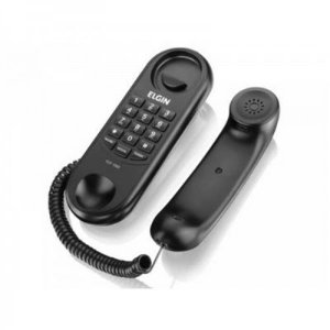 Telefone Elgin com Fio Preto TCF-1000