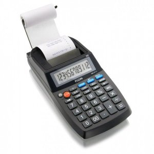 Calculadora de Mesa Compacta com bobina 12 dígitos - MA 5111 - Elgin