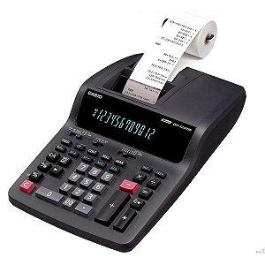 Calculadora com impressora 3,5 linhas / seg, 12 dígitos e bobina de 58 mm - DR-120TM-110 - Casio