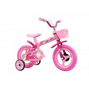 Bicicleta Aro 12 Track & Bikes Arco Íris - Rosa