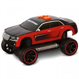 Carrinho Road Rippers - It Comes Back - Chrysler 300 C - Vermelho e Preto - DTC
