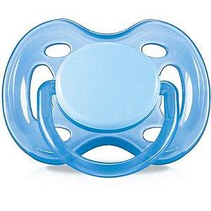 Chupeta Free Flow BPA Free  0-6 Meses Single Pack Azul - Philips Avent - SCF178/13