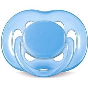 Chupeta Free Flow BPA Free 6-18 meses Single Pack Azul