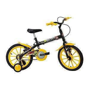 Bicicleta Infantil Aro 16 Track & Bikes Dino Preto - Masculina