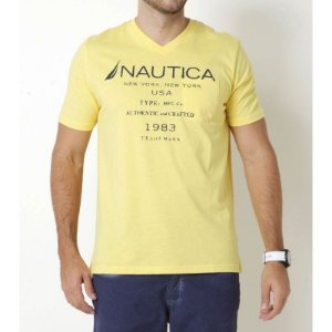 Camiseta Nautica New York Amarela