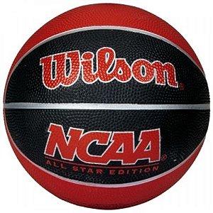 Bola de Basquete Wilson NCAA Mini Vermelha nº3