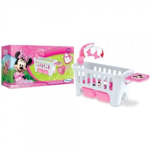 Berço Minnie Mouse Bow-Tique Disney Rosa - Xalingo