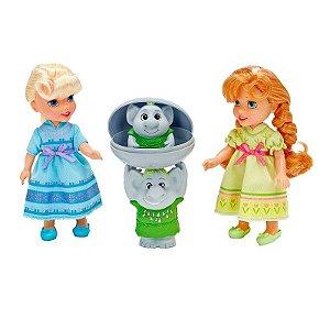 Boneca Anna e Elsa com Trolls - Sunny Brinquedos