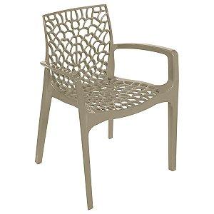 Cadeira Gruvyer com Braço Fendi - Or Design