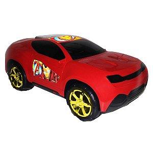 Carro Roda Livre Gigante Vingadores Vermelho - Toyng