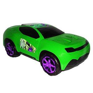 Carro Roda Livre Gigante Vingadores Verde - Toyng