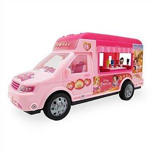 Caminhão Food Truck Princesas - Toyng