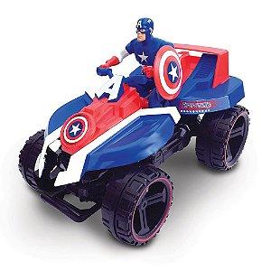 Quadriciclo Fricção Capitão América - Toyng