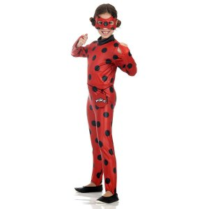 Fantasia Ladybug Macacão Pop - Sulamericana