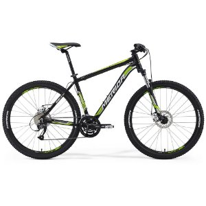 Bicicleta Merida Big Seven 40MD Aro 27,5 Tamanho 17 - Preta e Verde