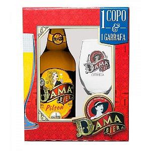 Kit Cerveja Dama Bier Pilsen + 1 Copo Exclusivo
