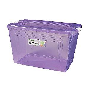 Organizador com Capacidade de 60 Litros Lilás - Multbox