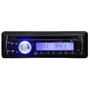 Auto Rádio FM com Entrada USB, MP3, CD, SD e Entrada Auxiliar - Lenoxx