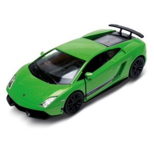 Carrinho Super Marcas Lamborghini Gallardo LP 570-4 Superleggera Verde - DTC