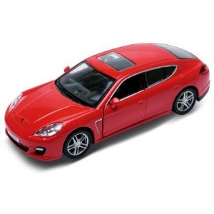 Carrinho Super Marcas Porshe 911 Carrera S Vermelho - DTC