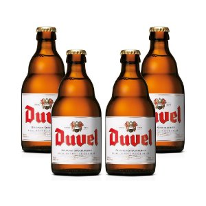 kit Com 4 Cervejas Duvel 330ml