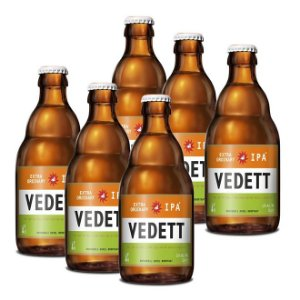 Kit Com 6 Cervejas Vedett IPA 330ml
