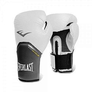 Luva de Boxe Everlast Pro Style 12Oz Branco