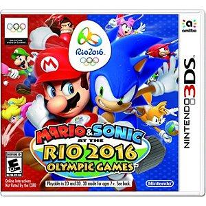 Jogo Mario & Sonic at the Rio 2016 Olympic Games para Nintendo 3DS