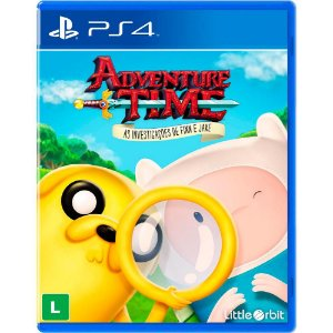 Jogo Adventure Time: As investigações de Finn e Jake para Playstation 4 (PS4) - Little Orbit