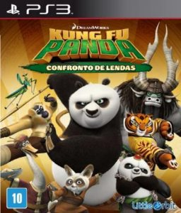 Kung Fu Panda: Confronto de Lendas para Playstation 3 (PS3) -  Little Orbit