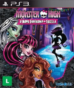 Jogo Monster High: O Novo Fantasma da Escola para Playstation 3 (PS3) - Little Orbit
