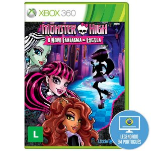 Jogo Monster High: O Novo Fantasma da Escola para Xbox 360 (X360) - Little Orbit