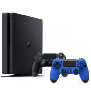 Console Playstation 4 Slim 500GB com 2 controles - Sony