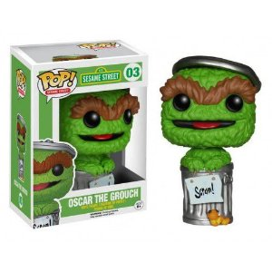 POP! Vila Sésamo: Oscar the Grouch - Funko