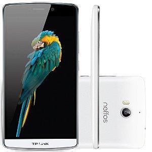 Smartphone TP-LINK Neffos C5 Max, Processador Octa Core, Android 5.1, Tela 5.5´, 16GB, 13MP, 4G, Dual Chip, Desbloqueado - Branco