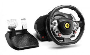 Volante e pedais Ferrari 458 TX Racing Wheel para Xbox One e PC - Thrustmaster 4460109