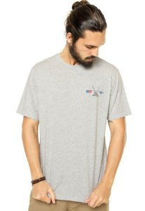 Camiseta Nautica Masculino cinza