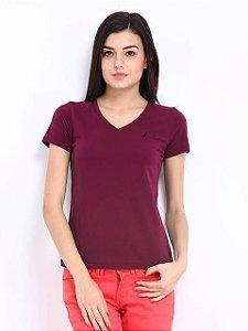 Camiseta feminina Nautica Fúcsia