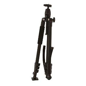 Tripé e estabilizador de ombro p/ câmeras e filmadoras VIVVPT450 - Vivitar