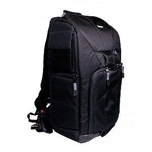 Mochila para câmera digital SLR, lente, notebook com tela de 14 polegadas - VIVDKS18 - Vivitar