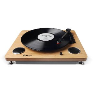 Toca-Discos Vinil com alto-falantes, conversão para o formato digital e saída RCA - ARCHIVELP - Ion