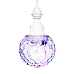 Globo de luzes LED giratório 360° para festas - PARTYBALL - Ion