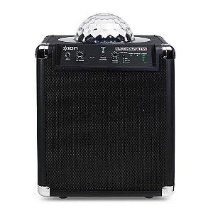 Caixa amplificadora portátil sem fio 50 W com luzes de LED para festas - BLKPRTLIVE - Ion