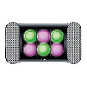 Sistema de som e luzes iGlowSound com entrada de áudio auxiliar - ISOUND5245 - iSound